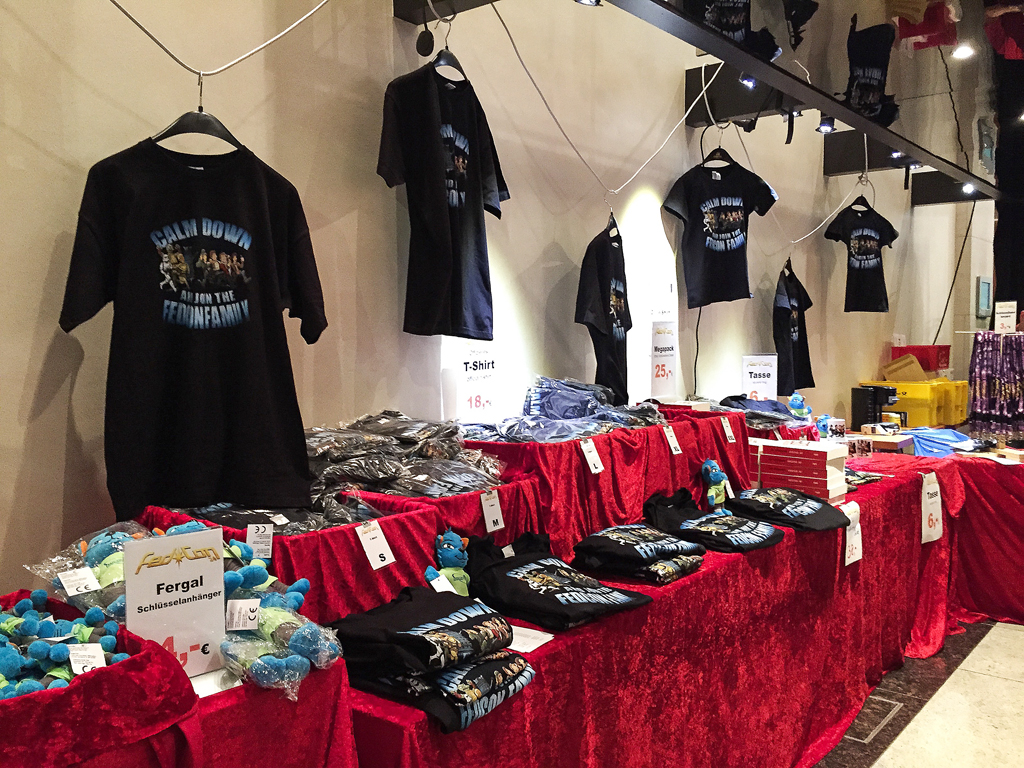 Merchandise-Stand
