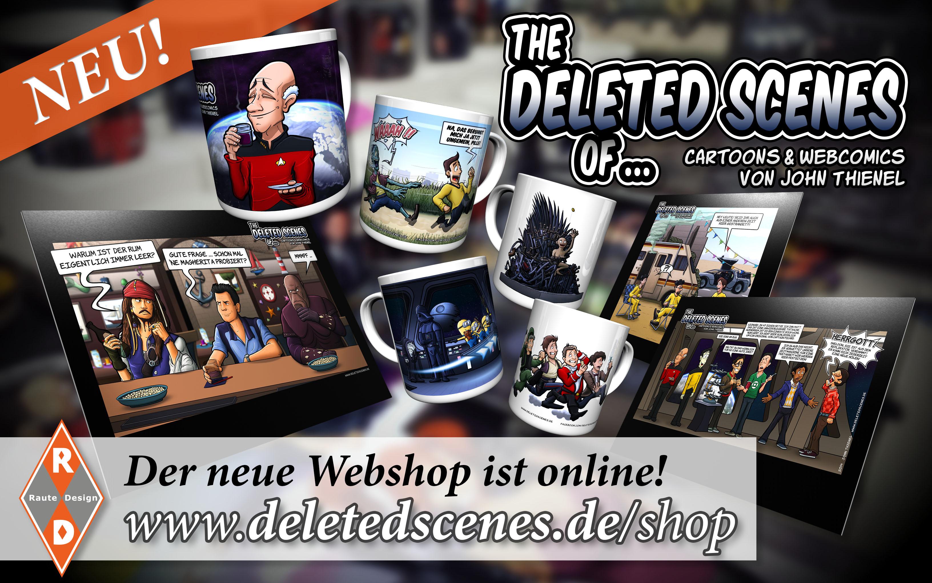 Deleted Scenes - Webshop