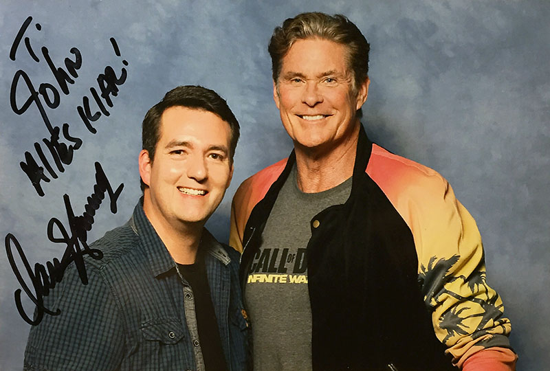 Photoshop - David Hasselhoff